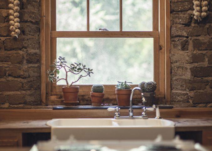Fenêtre en bois